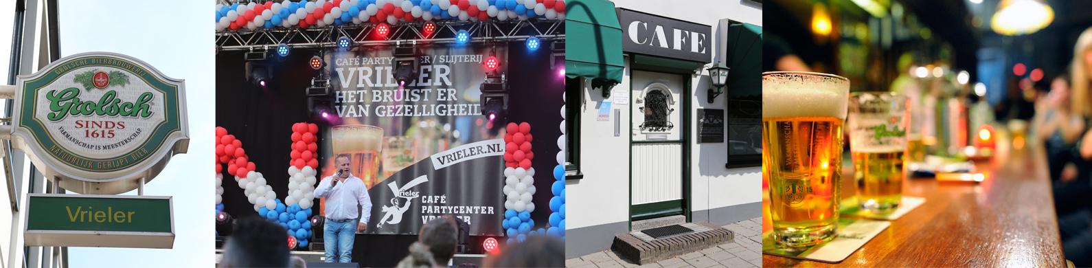 Café Zaalverhuur Slijterij Vrieler in Enschede
